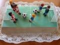 Geburtstagstorte, Kinder, Fussballfeld