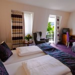 Zimmerbeispiel, Doppelzimmer mit Balkon