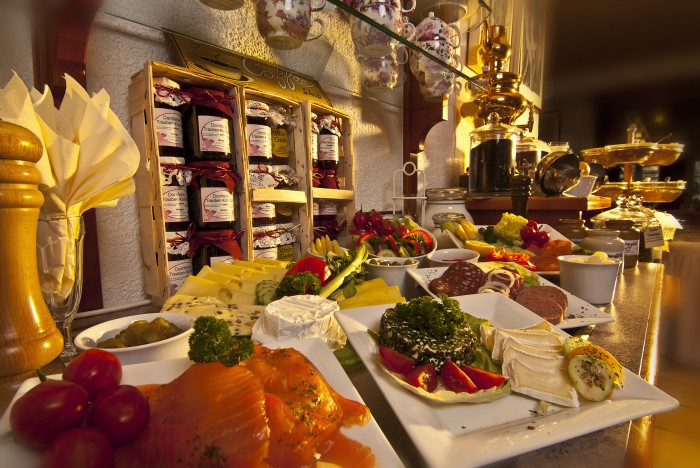 Langschläferfrühstück im Hotel Germania