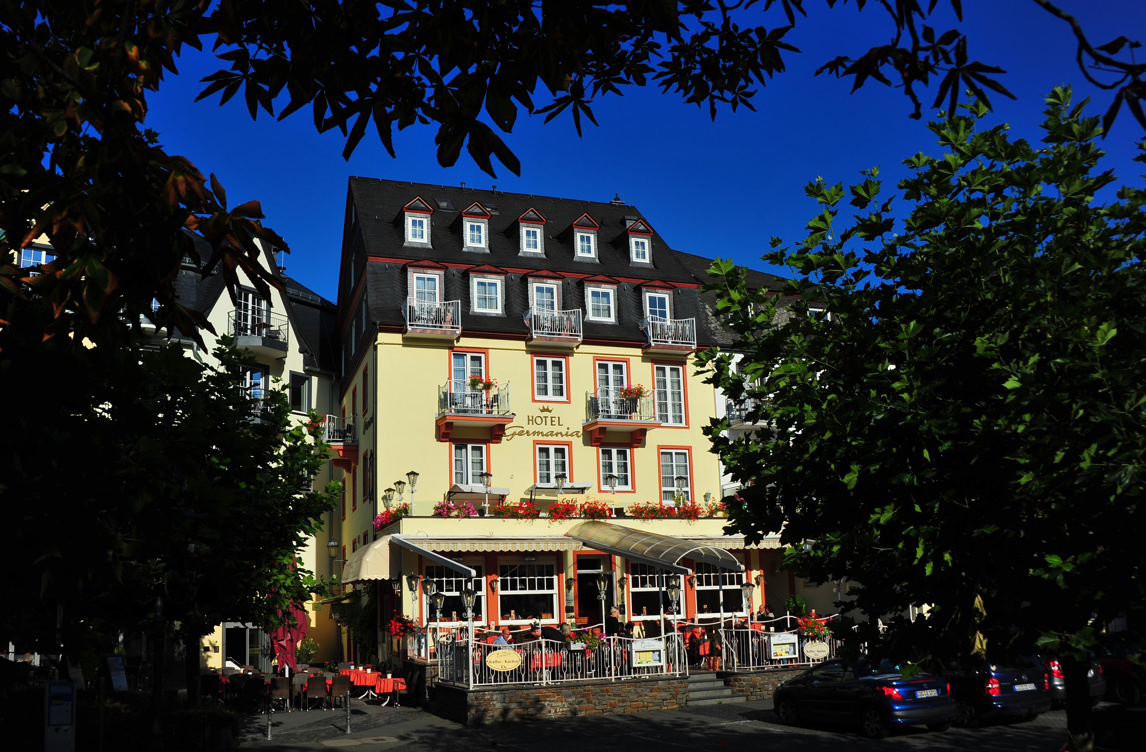 Außenansicht Hotel Germania