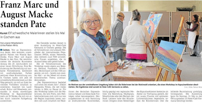 Artikel Rheinzeitung 16.03.2015