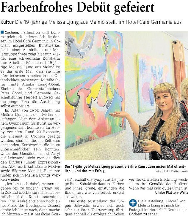 Artikel Rheinzeitung 18.05.2015