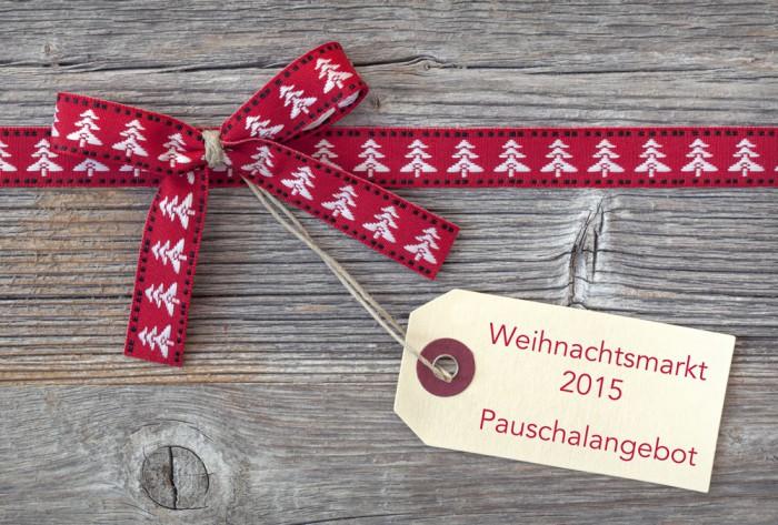 Weihnachtsmarkt auf dem Weingut - Pauschalangebot 2015