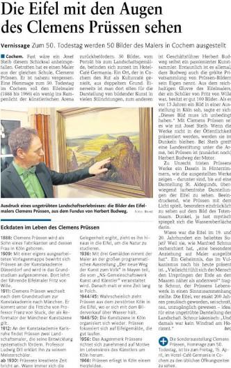 Rheinzeitung 15.03.2016