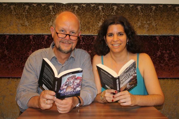 Lesung im Doppelpack mit Ralf Kramp und Carolin Gilbaya