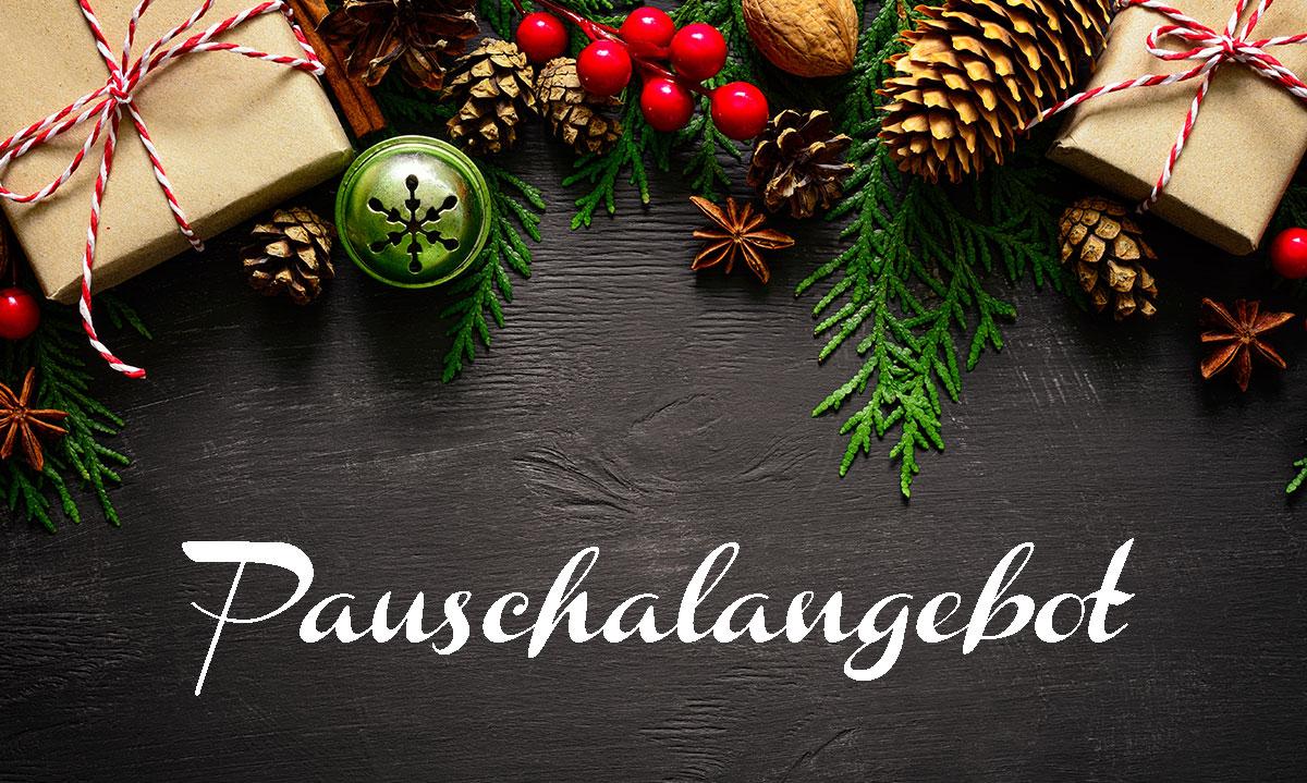 Pauschalangebot - Weihnachtsmarkt