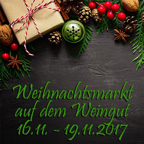 Weihnachtsmarkt auf dem Weingut 2017