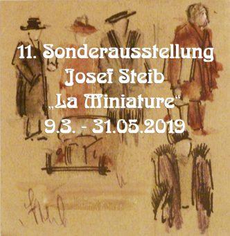 """La Miniature"" Josef Steib Sonderausstellung 2019"