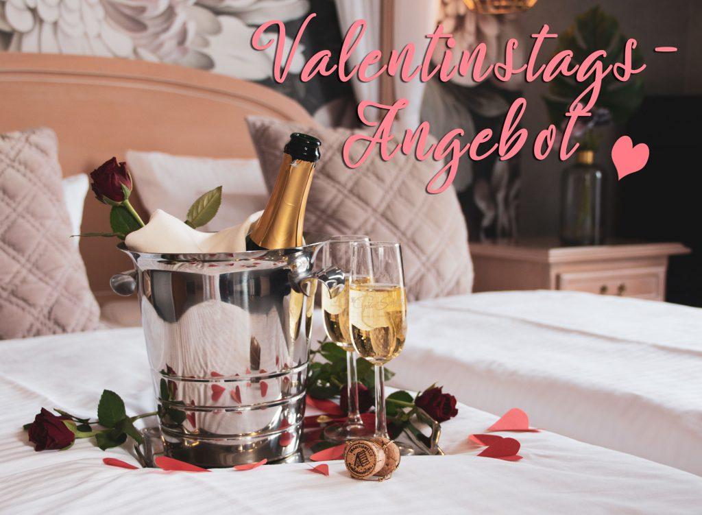 Valentinstagsangebot im Hotel Germania