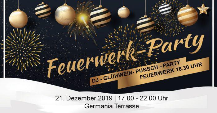 Feuerwerk-Party
